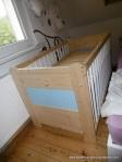 Babybett aus Kiefernholz ab 300 € Natur oder Wunschfarbe