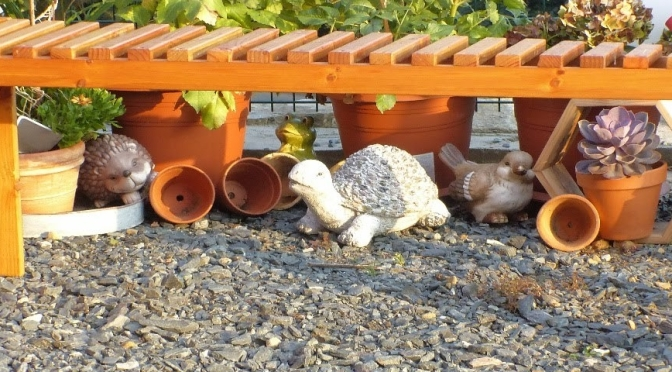 Gartenbank selber bauen