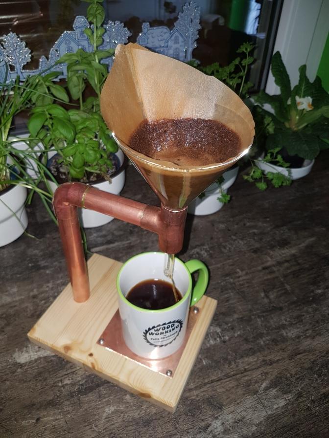 Woodworker Coffeemaker